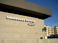 Starbucks Coffee - Northshore behind